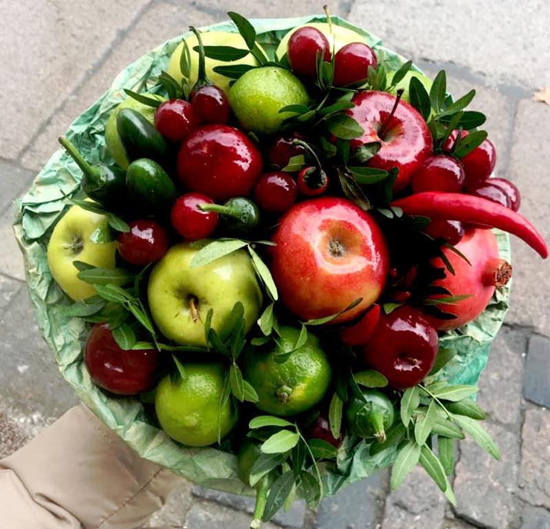 Queenfruits jadalne bukiety lilyfly blog Lidia Prasał copywriter
