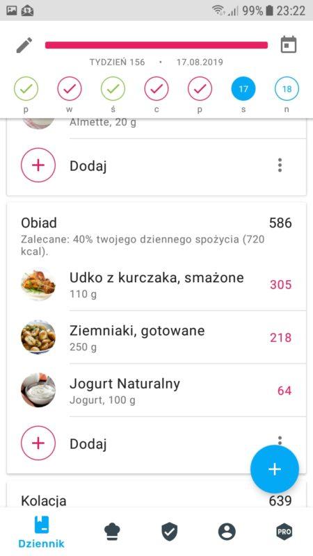 Yazio dieta